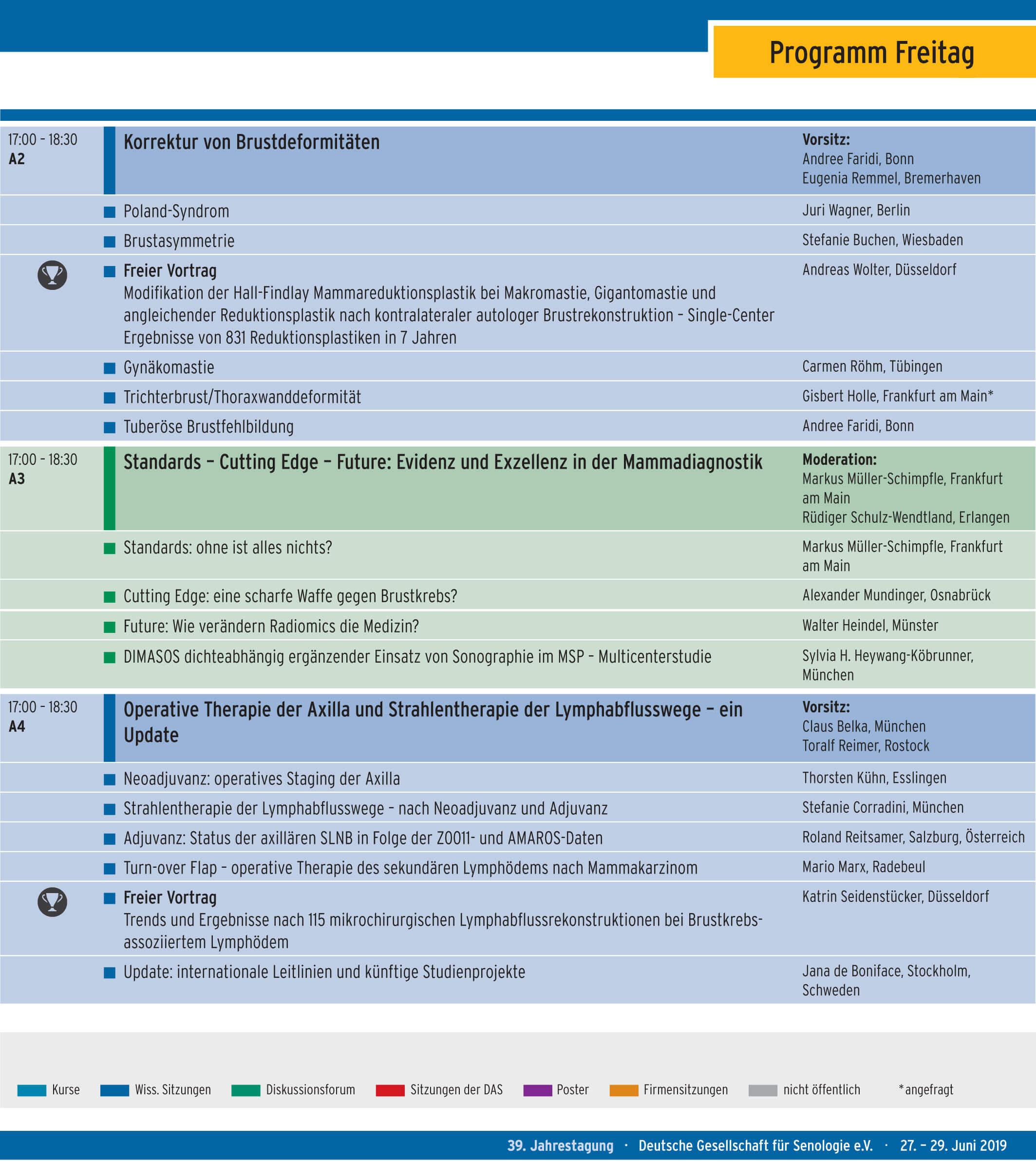 Programm-Freitag-39-Jahrestagung-der-Deutschen-Gesellschaft-fuer-Senologie-eV-Dr-med-Gisbert-Holle-Frankfurt