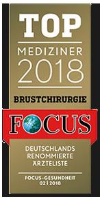 Focus Top Mediziner 2018 Brustchirurgie - Dr. med. Gisbert Holle Frankfurt Main