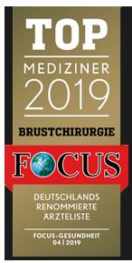 Focus Top Mediziner 2098 Brustchirurgie - Dr. med. Gisbert Holle Frankfurt Main
