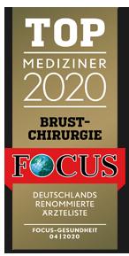Focus Top Mediziner 2020 Brustchirurgie - Dr. med. Gisbert Holle Frankfurt Main