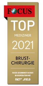 Focus Top Mediziner 2021 Brustchirurgie - Dr. med. Gisbert Holle Frankfurt Main